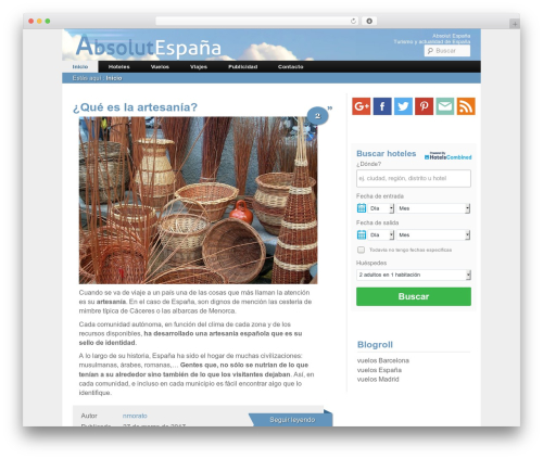 WordPress ab-table-of-contents-plus plugin - absolutespana.com