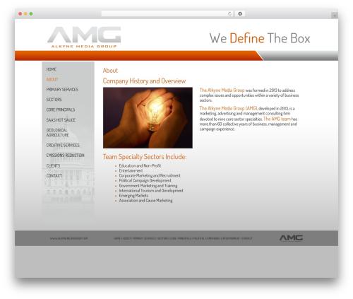BLANK Theme theme WordPress - alkynemediagroup.com