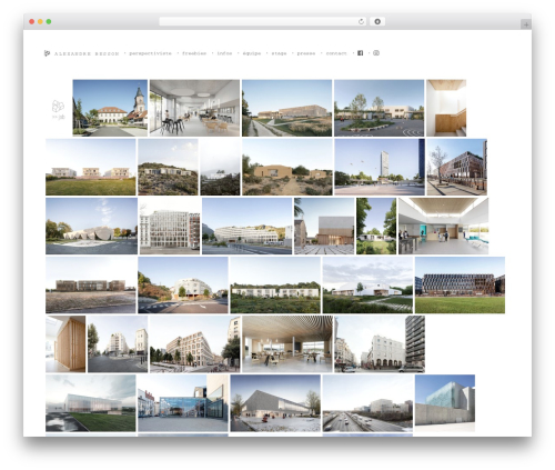 Bricks WordPress theme - alexandre-besson.com