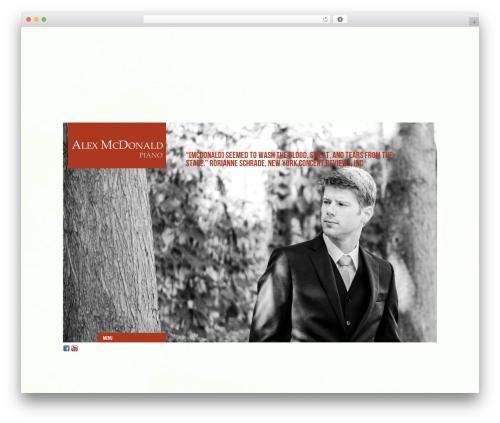 Free WordPress ConcertPress plugin - alexmcdonaldpiano.com