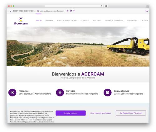WordPress easy-tables-vc plugin - aceroscampollano.com
