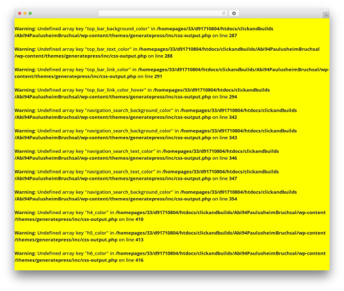 GeneratePress WordPress template free - abi1994.org