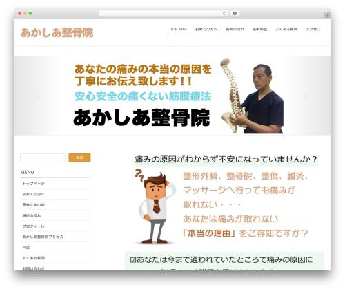 Lightning WordPress template - akasia.jp