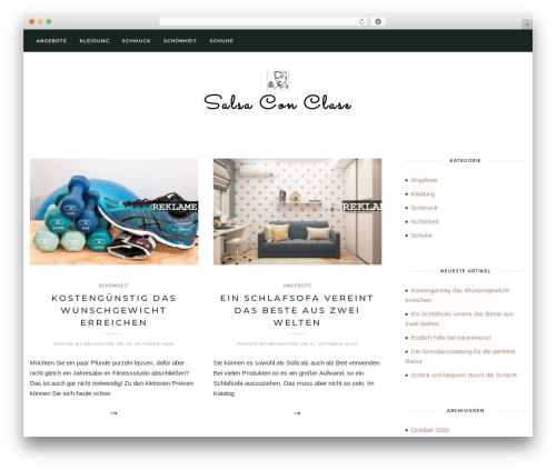 Solien template WordPress - salsaconclase.de