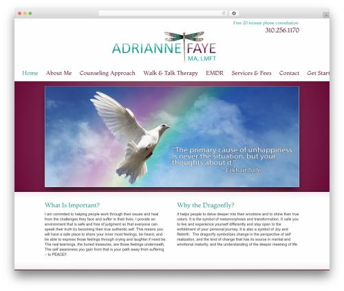 Striking MultiFlex & Ecommerce Responsive WordPress Theme template WordPress - adrianneftherapist.com