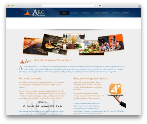 Theme WordPress Envision Child - absoluterestaurantconsultants.com