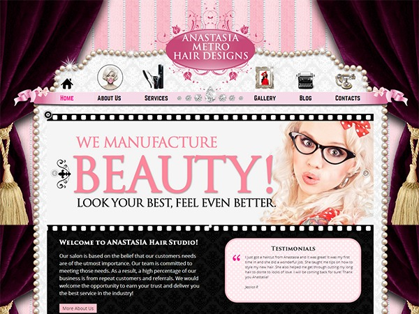 Anastasia WordPress theme