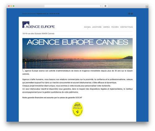 Free WordPress WP-EMail plugin - agence-europe-cannes.com