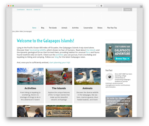 Lounge theme WordPress - aboutgalapagos.nathab.com