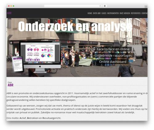 NineZeroSeven WP template - abractivatie.com