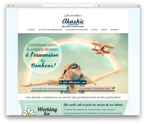Terso WordPress theme - akashic-production.com