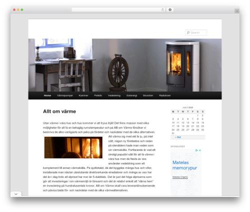 Twenty Eleven template WordPress free - alltomvarme.se