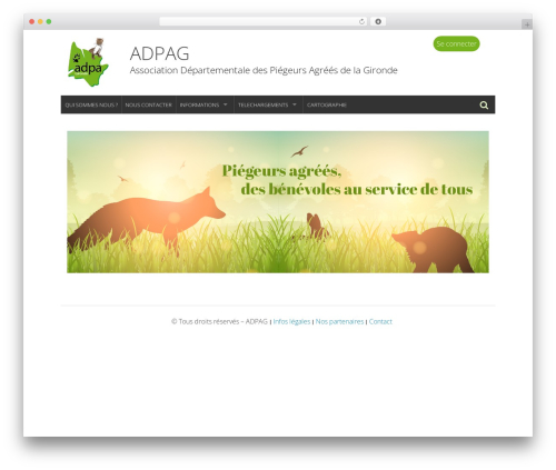 WP-Forge theme free download - adpag.fr