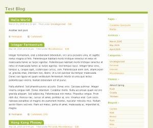 Almost Spring theme WordPress