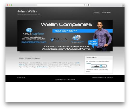 Apollo Child Theme WordPress theme - wallincompanies.com