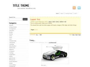 Best WordPress theme my white theme