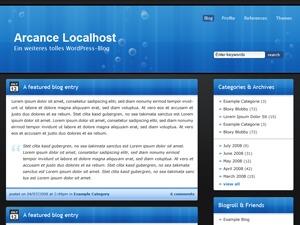 Bloxy WordPress template