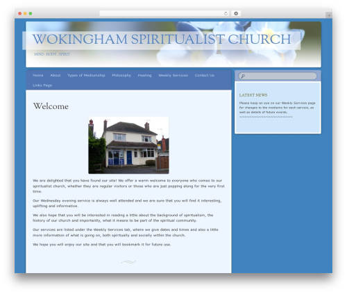 Bouquet WordPress theme - wokinghamsc.org