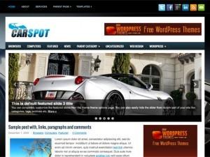 carspot company WordPress theme
