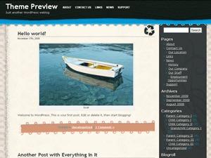 Crafty WordPress theme