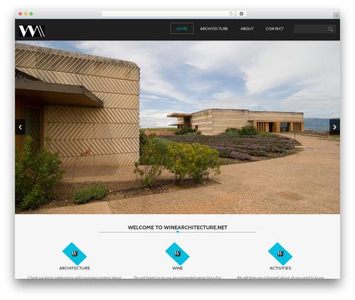 Customizable free website theme - winearchitecture.net