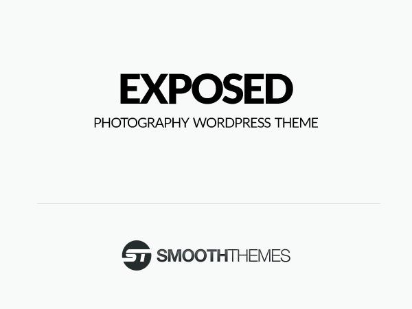 Exposed WordPress photo theme