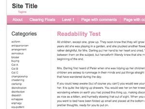 For Women-Female WordPress blog theme
