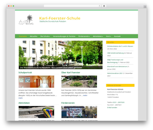 Genesis best WordPress theme - wp.karl-foerster-schule.de