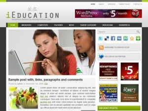 iEducation template WordPress