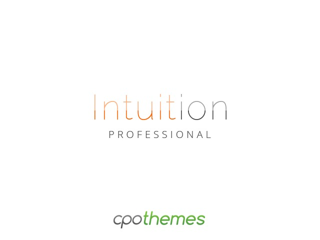 Intuition Pro company WordPress theme