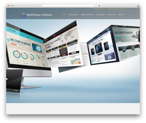 Investment WordPress theme - webpowerinfotech.com
