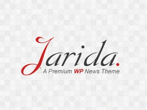 Jarida (shared on themelot.net) WordPress news theme