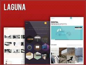 Laguna template WordPress