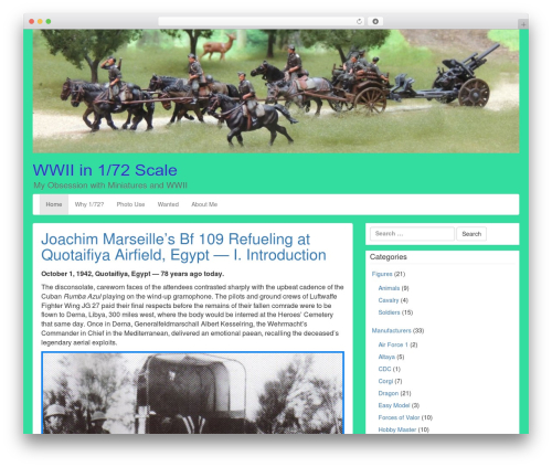 LineDay best free WordPress theme - ww2in172.com