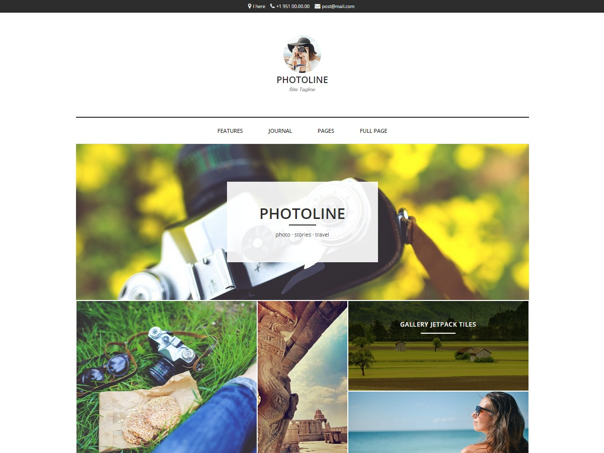 Photoline Lite theme WordPress free
