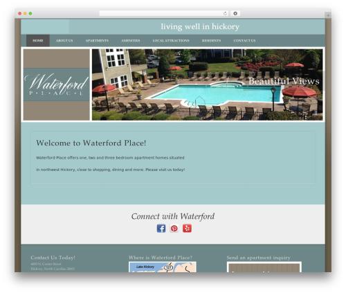 Free WordPress Social Media Icons Widget plugin - waterfordhickory.com