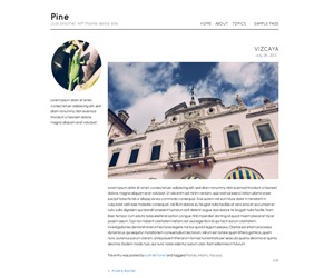 Pine WordPress free download