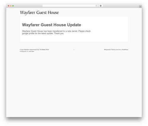 Responsive WP theme - wayfarermelaka.com