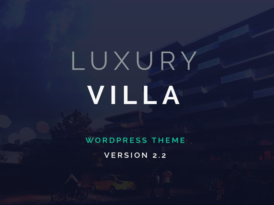 Template WordPress Luxury Villa WordPress Theme