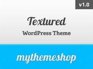 Textured premium WordPress theme