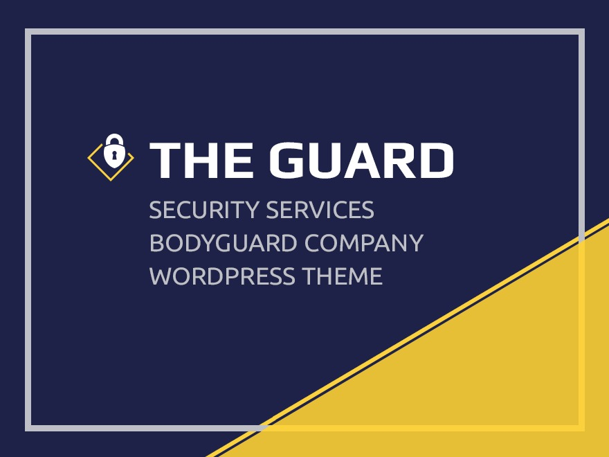 The Guard WordPress template for business