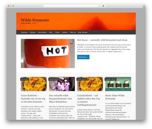 Theme WordPress Expound - wildefermente.de