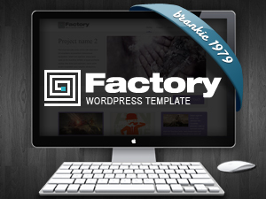 Theme WordPress Factory WordPress Theme
