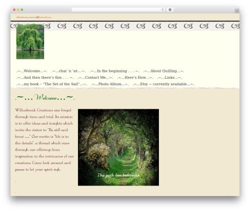 Theme WordPress Noisy - willowbrookcreationsonline.com