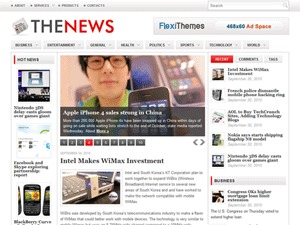 thenews newspaper WordPress theme