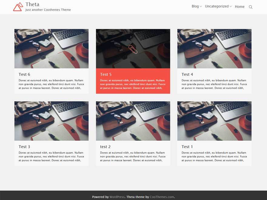 Theta WordPress theme free download
