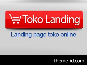 Toko Landing premium WordPress theme