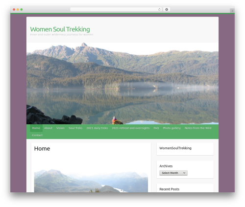 Travelify WordPress template free download - womensoultrekking.com