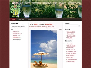 v1 WordPress theme