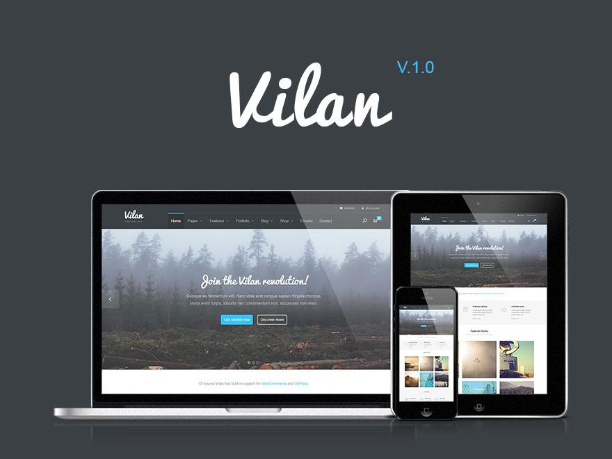 Vilan WordPress Theme company WordPress theme